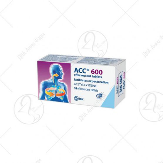 АЦЦ 600 шумливи таблети