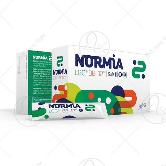 Normia кесички 10 x 1 г