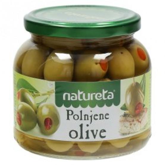 Ета маслинки полнети со пиперка 540г