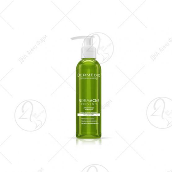 NORMACNE antibacterial cleansing gel, 200ml