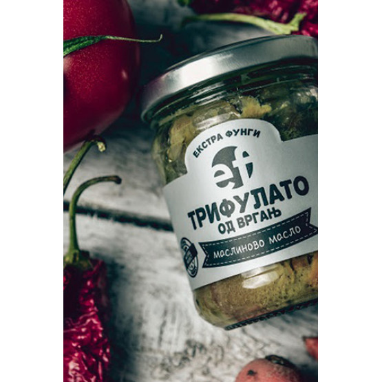 Екстра фунги Трифулато од вргањ со маслиново масло 190г