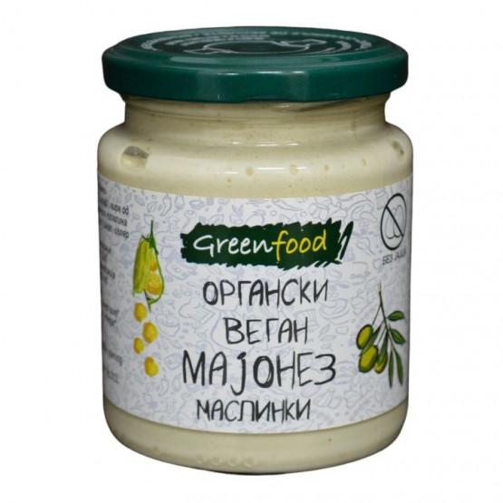 Органски Веган Мајонез со маслинки 260г