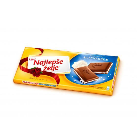 Најлепше жеље чоколадо млечен крем 100г