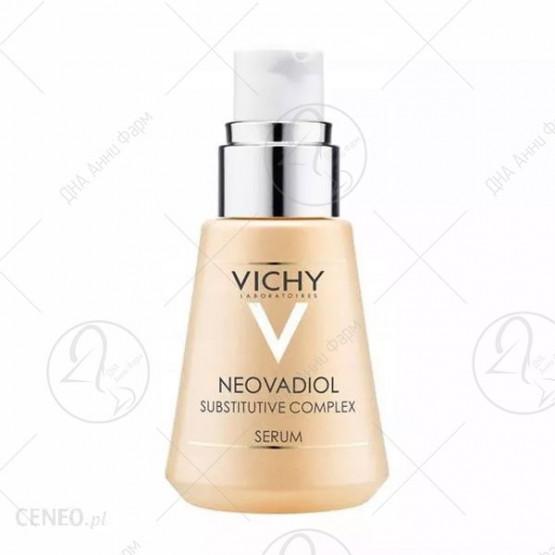 NEOVADIOL КОМПЕНЗАЦИОНЕН КОМПЛЕКС* Напреден обновувачки концентрат за зрела кожа и кожа во менопауза Сите типови на чувствителна кожа - 30 ml