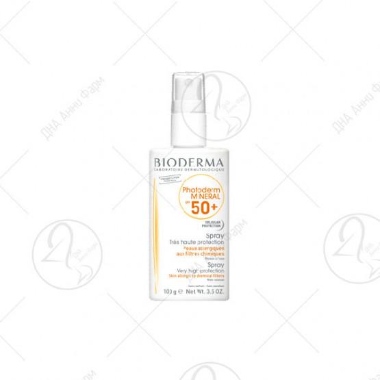 Photoderm Mineral SPF50+ 100g SPF 50+/UVA 26