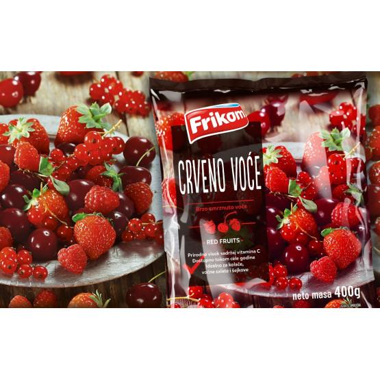 Фриком замрзнато црвено овошје микс 400г