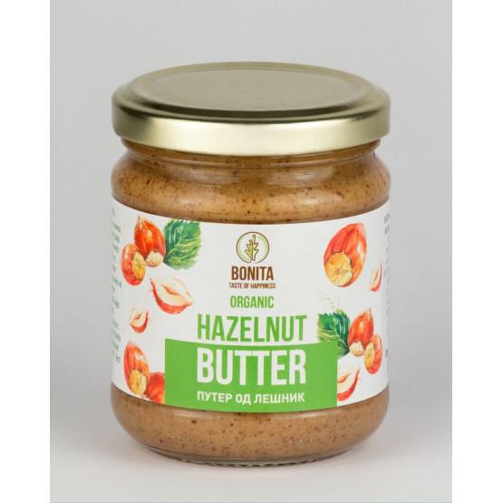 Органски путер со лешник и какао 200г
