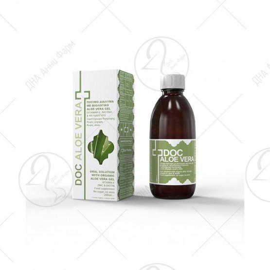 Doc Aloe Vera – 250 ml со вкус на лимон