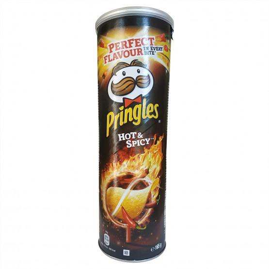 Чипс Принглс со зачини 165г