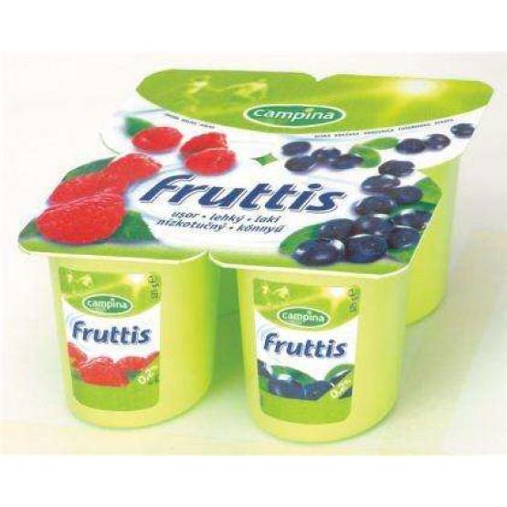 Фруитс овошен јогурт боровница капина 4*125г