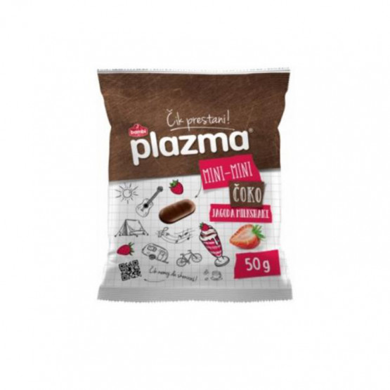 Плазма Бисквити мини јагода и чоко 50г