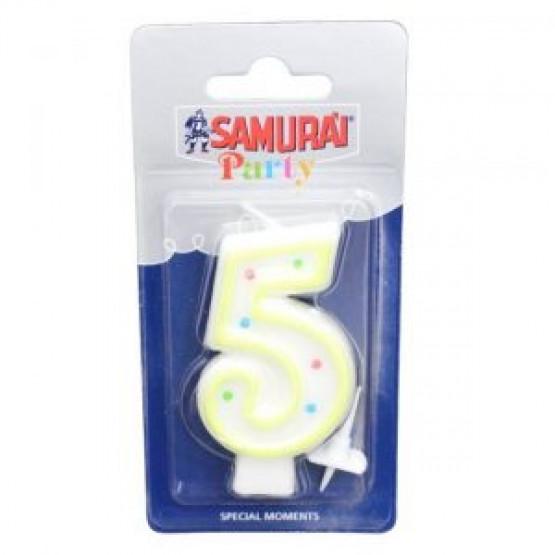 Самурај  Парти свеќичка бројка