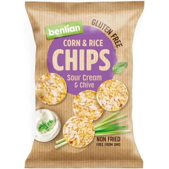 Бенлиан чипс со павлака и лук 50г