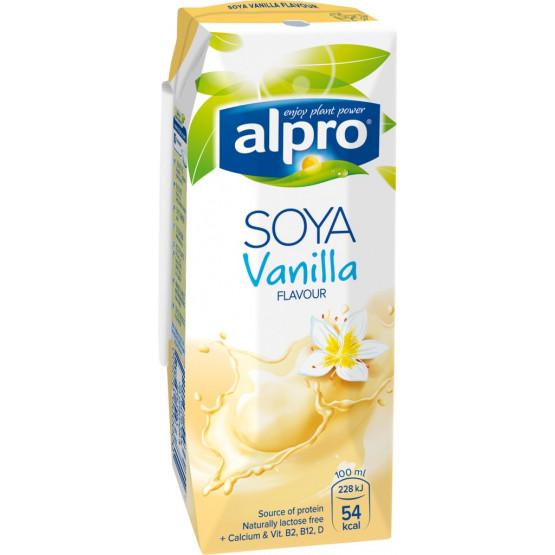 Соја напиток Алпро со ванила 250мл