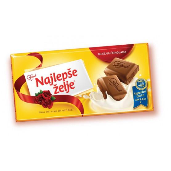 Чоколадо Најлепше жеље млечно 200г