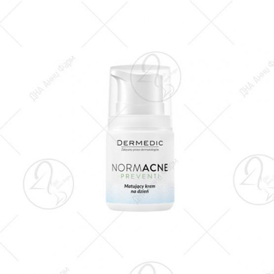 NORMACNE matting day cream, 55gr