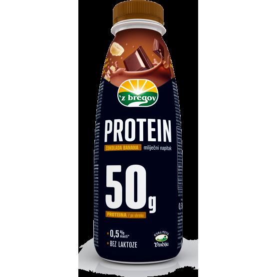Протеински напиток чоколадо и банана 500мл Збрегов