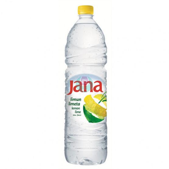 Јана Ароматизирана вода со вкус на лимон лимета 1.5л
