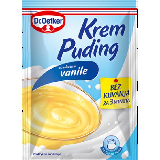 Др.Еткер пудинг крем  ванила 50г