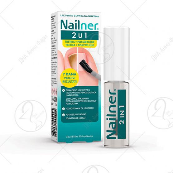 Nailner® лак против габичните инфекции на ноктите