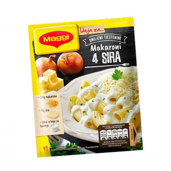 Маги сос за макарони со 4-ри сирења
