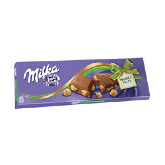 Чоколадо Милка цел лешник 270г