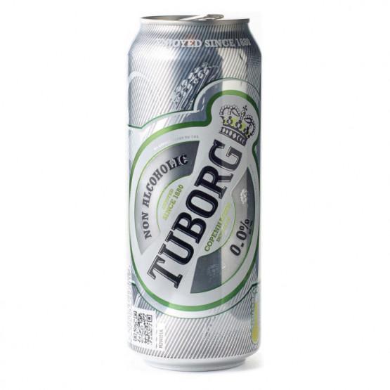 Туборг безалкохолно пиво 500мл