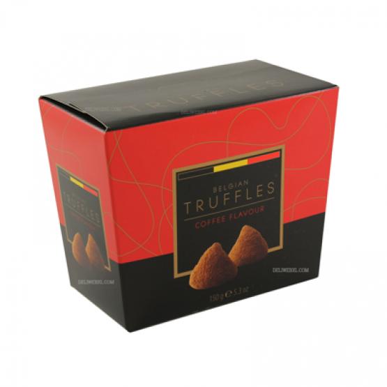 Бонбониера белгиски труфли со кафе 150г