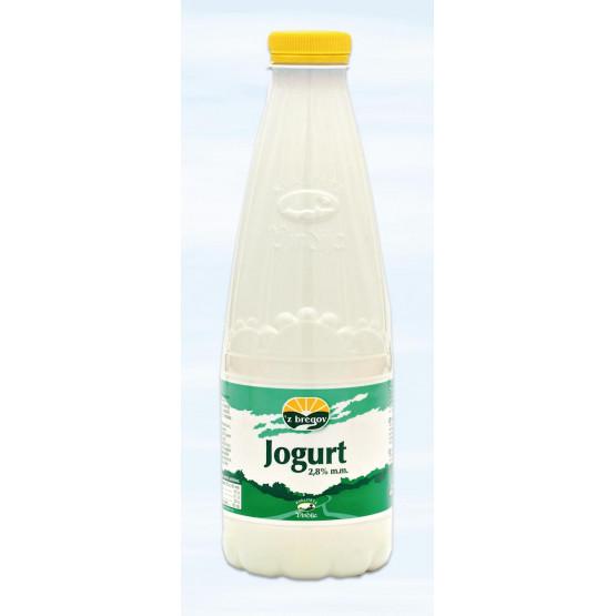 Јогурт 2.8% шише 1л Збрегов