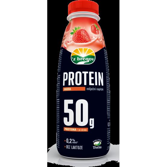 Протеински напиток Јагода 500мл Збрегов