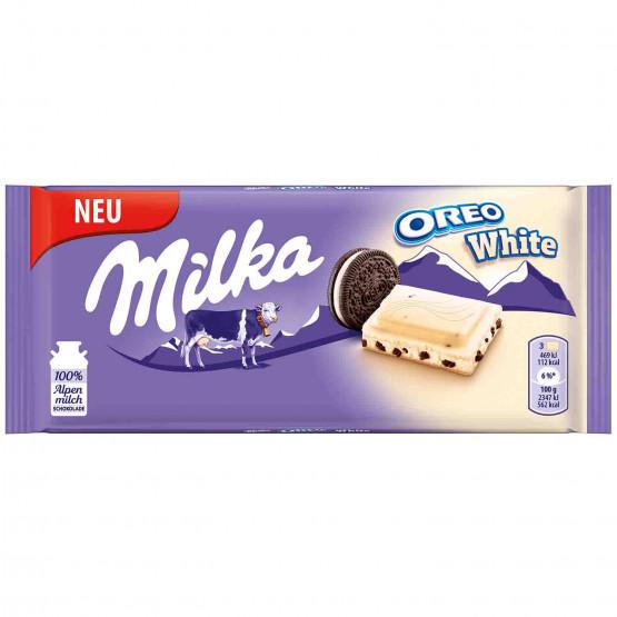 Милка Орео со прелив Бело чоколадо 246г