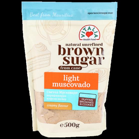 Кафеав шеќер Мусковадо лајт 500г