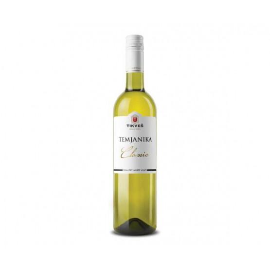Вино Темјаника класик 750мл Тиквеш
