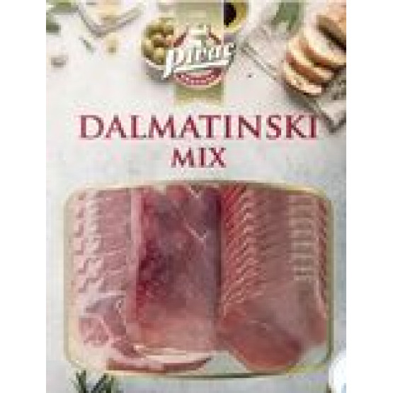 Пивац Далматински микс слајс  300г