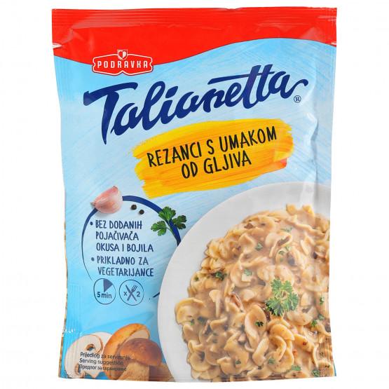 Подравка Талианета резанки во сос од печурки 140г