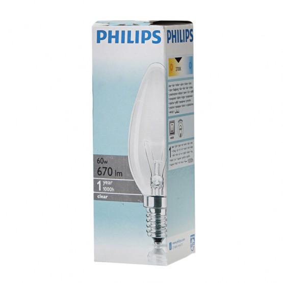 Сијалица Филипс 60w бистра