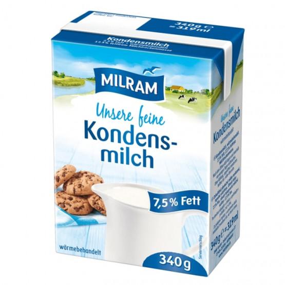 Млеко за кафе Милрам 7,5%мм 340г