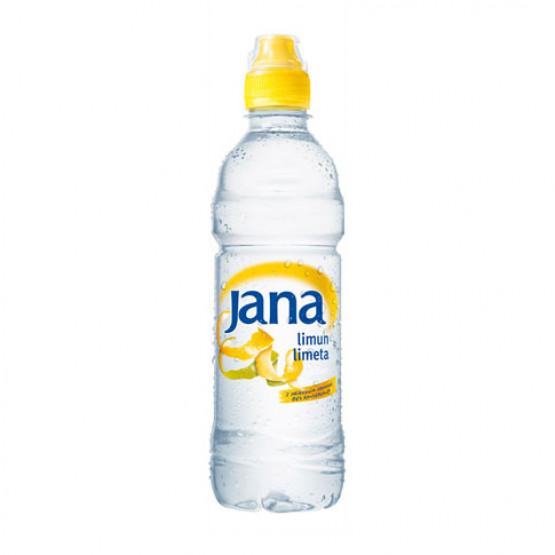 Јана Ароматизирана вода со вкус на лимон лимета 500мл