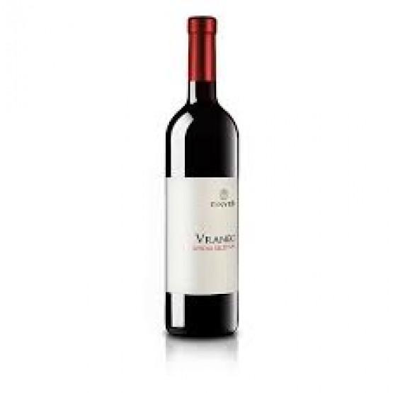 Вино Вранец црвено СС 750мл Тиквеш