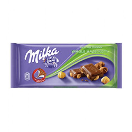Чоколадо Милка цел лешник 100г