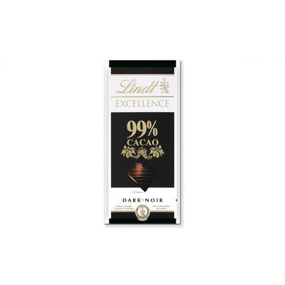 Линдт Екселент чоколада со 99% какао 100г