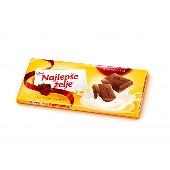 Најлепше жеље чоколадо млечно 90г