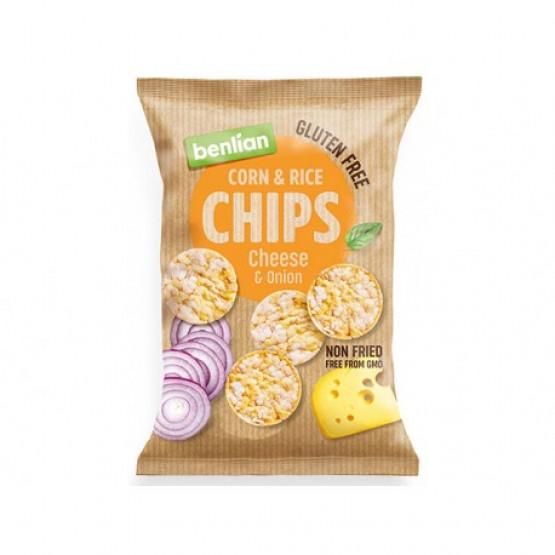 Бенлиан чипс со сирење и кромид 50г